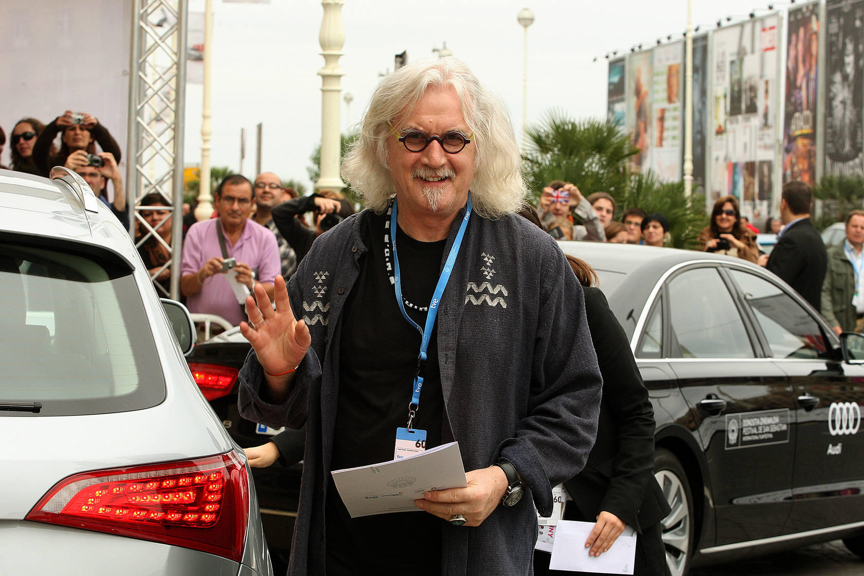 Billy Connolly ya está en San Sebastián