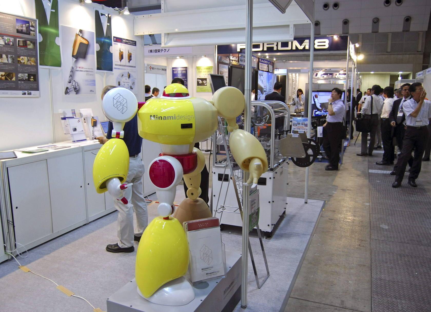 Feria Robotech Japón