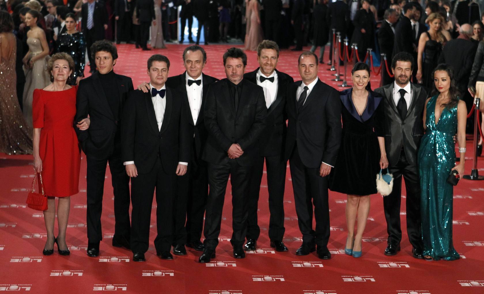 La alfombra de los Premios Goya