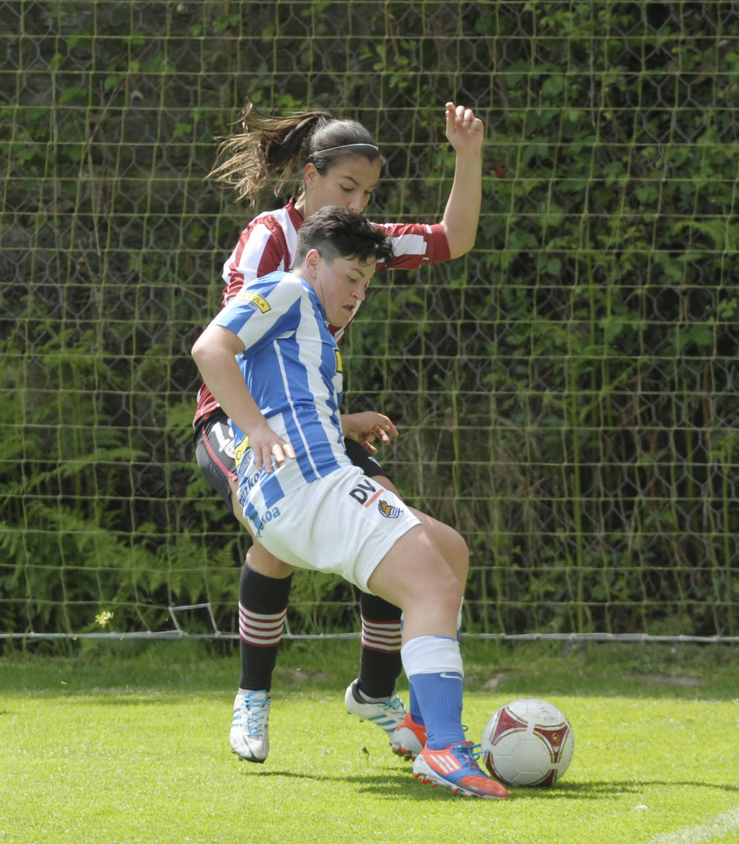 Las Real femenina pierde contra el Athletic