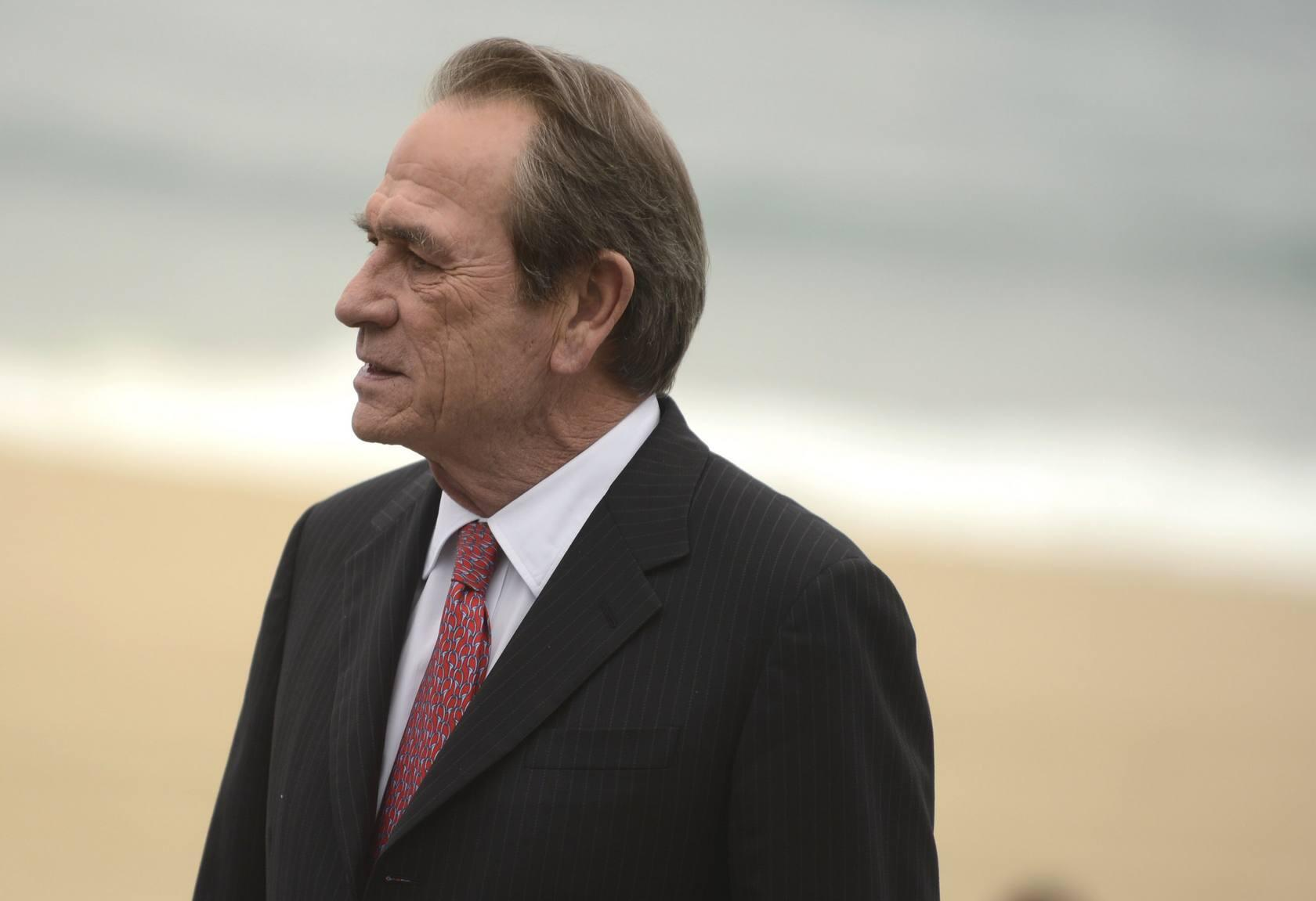 Tommy Lee Jones presenta 'Hope springs' en el ZInemaldia