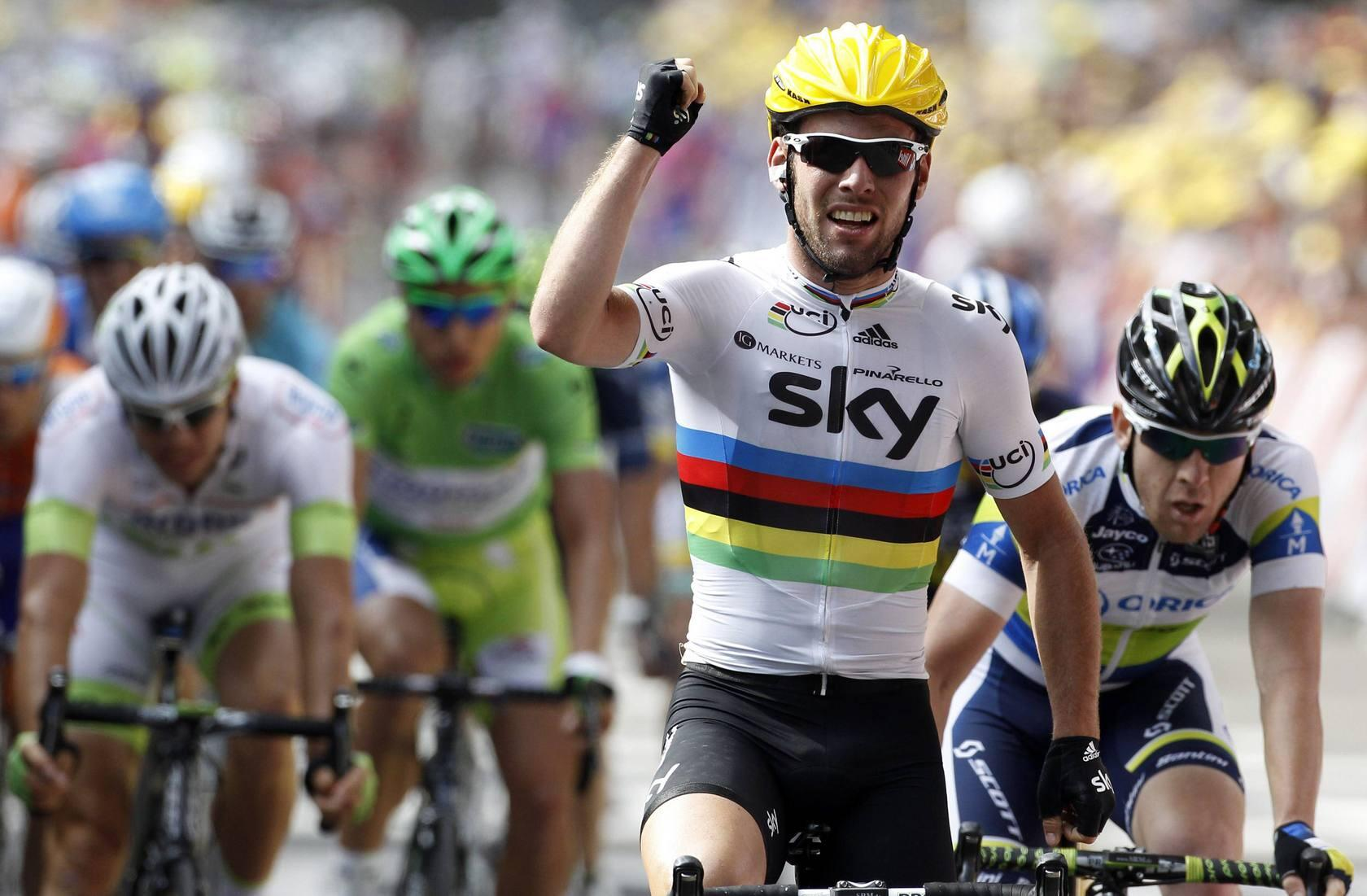 Mark Cavendish se impone en la segunda etapa del Tour de Francia
