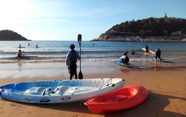 2 horas de piragua individual o Stand Up Paddle Surf