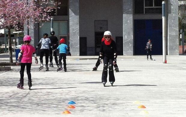 Curso de patinaje