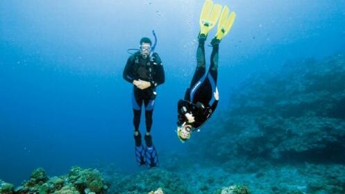 Bautizo de buceo en el mar con Ksub (Getaria)