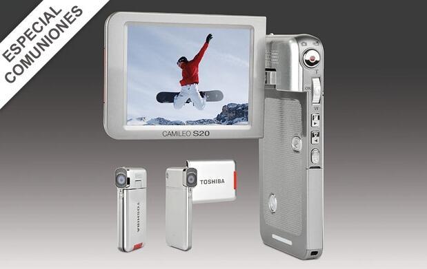 Videocámara Toshiba Camileo S20