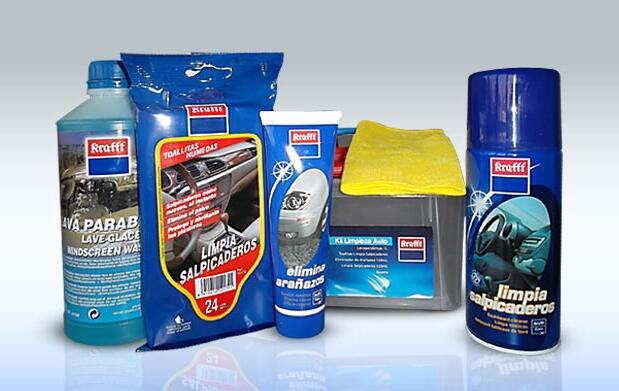 Kit de limpieza para tu coche