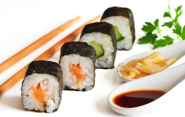 Menú japonés para llevar