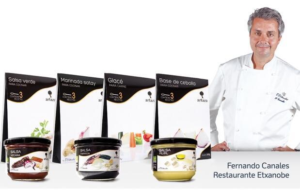 Pack de 7 salsas de Fernando Canales