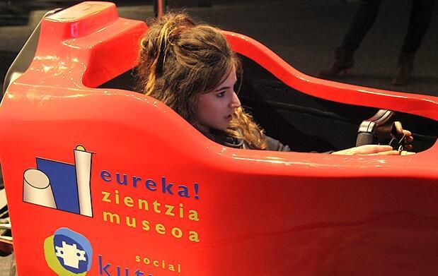 Entrena con un Ferrari de Fórmula 1