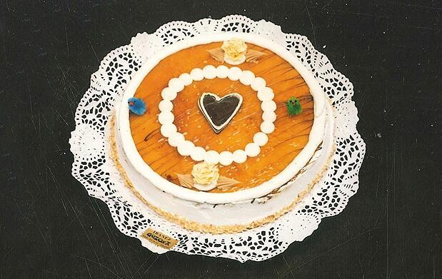 Tarta de nata o crema en Tolosa