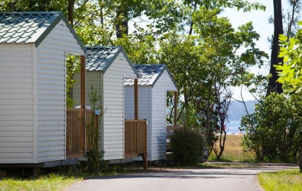 LANDAS en SEMANA SANTA o SEMANA de PASCUA : Camping 4* Mayotte Vacances en Biscarrose