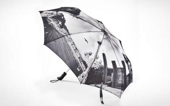Paraguas de Gipuzkoa plegable