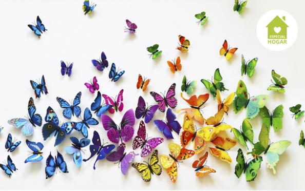 Mariposas 3D para decorar
