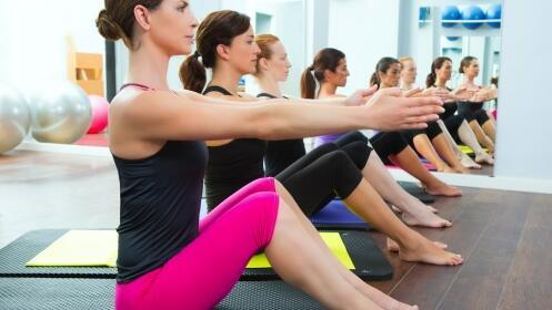 5 sesiones de Pilates