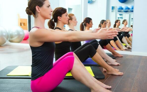 15 sesiones de Pilates