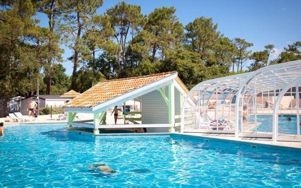Verano en Las Landas: Camping 4**** Le Bougidau en Laberne