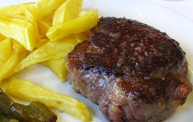 Menú en la Fermín Calbetón de Donostia