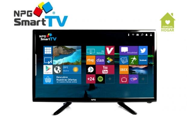 "TV D-LED 24"" HD 1080p Smart TV NPG"