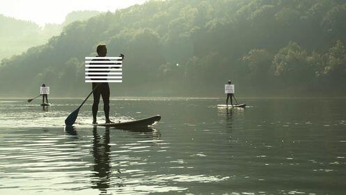 Stand up paddle por el río Urumea