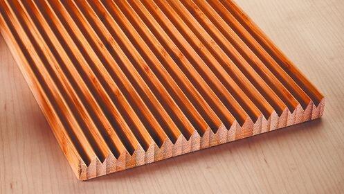 Tabla de crestas Bamboo Natur