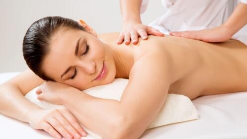 Limpieza de espalda con peeling ultrasónico