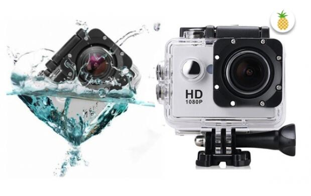 Videocamara deportiva waterproof Full HD 1080p
