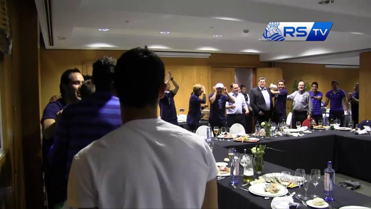 Una celebración a la altura de la Champions