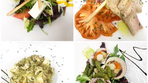 Fusión de relajación y gastronomía en Orio