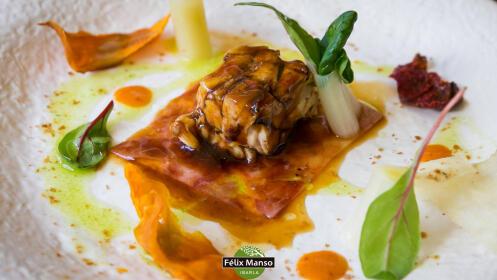 Menú especial caza de la mano del chef Félix Manso