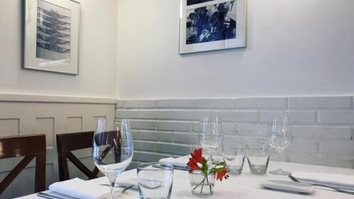 Menú en el Restaurante La Muralla