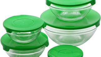 Set de 5 boles de vidrio Renberg