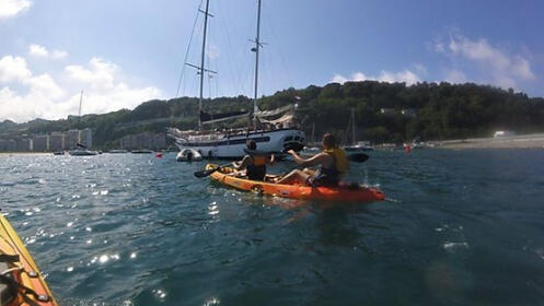 Disfruta de diferentes actividades  en kayak