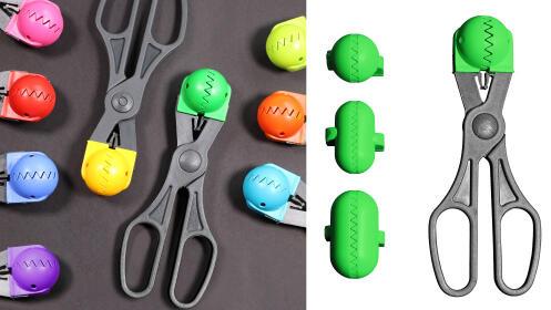La croquetera - utensilio multiuso con 4 moldes intercambiables