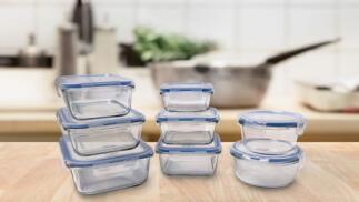 Envases herméticos de vidrio de alta calidad
