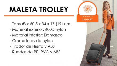 Maleta de cabina de tela Loyalty de Calgary