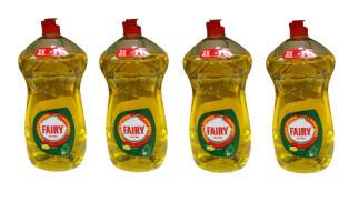 Pack de 4 botellas Fairy Ultra LEMON de 1410ml