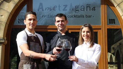 Menú en el Ametzagaña Restaurant & Cocktails Bar