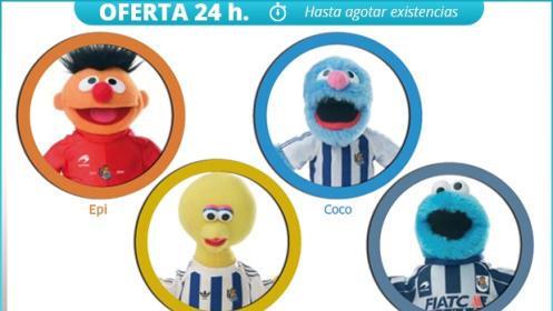Partxisoka+manta+muñeco de la Real Sociedad con ENVÍO a DOMICILIO