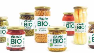 Lote de conservas vegetales de Ékolo