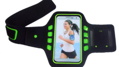 Funda deportiva con luz LED para Smartphones
