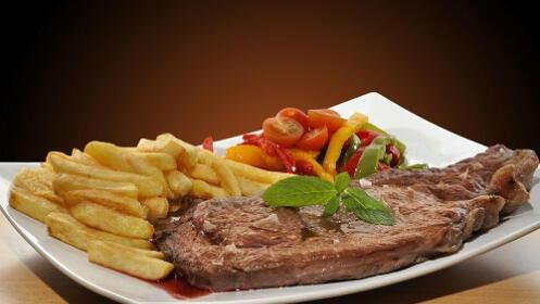 Menú degustación en el Restaurante Vagón de Cola de Irun