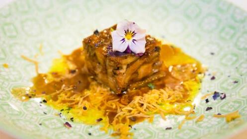 Deléitate con el delicioso menú que nos propone el chef Félix Manso