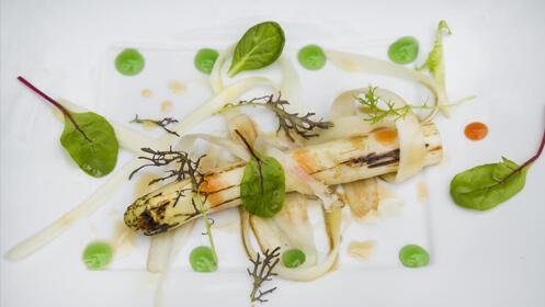 Menú especial vegetariano de la mano del chef Félix Manso