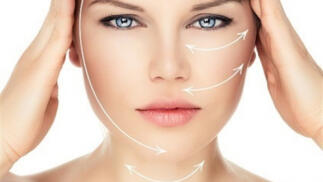 Tratamiento facial reafirmante  acido hialurónico y retinol con fototerapia LED
