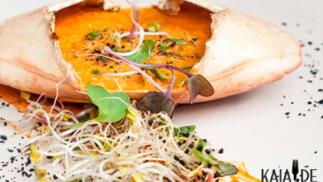 Menú  degustación en el restaurante Kaialde de Lezo