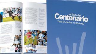 Libro del centenario de la Real Sociedad y DVD 09/10