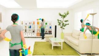 5 horas de servicio de limpieza profesional