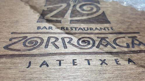 Menú   en Restaurante  Zorroaga