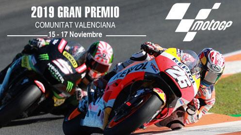Gran Premio de Valencia de Moto GP: 2 noches o 3 + entrada